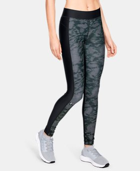 Women's HeatGear® Armour Printed Leggings  1  Color Available $50