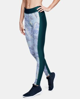 Women's HeatGear® Armour Printed Leggings  2  Colors Available $37.5 to $37.99