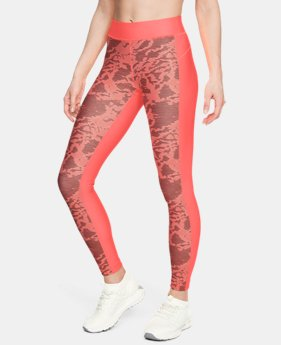 Women's HeatGear® Armour Printed Leggings  3  Colors Available $50