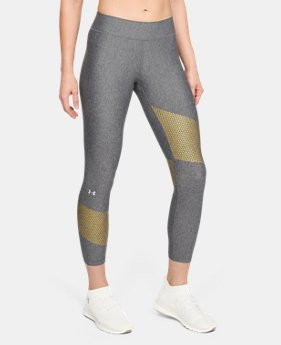Women's HeatGear® Armour Graphic Ankle Crop  2  Colors Available $37.5