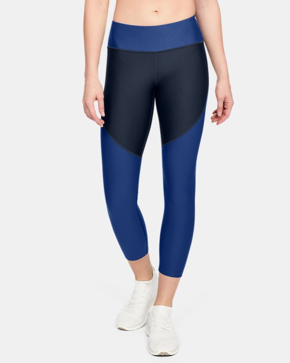 Women's UA Vanish Crop, Navy, pdpMainDesktop image number 0