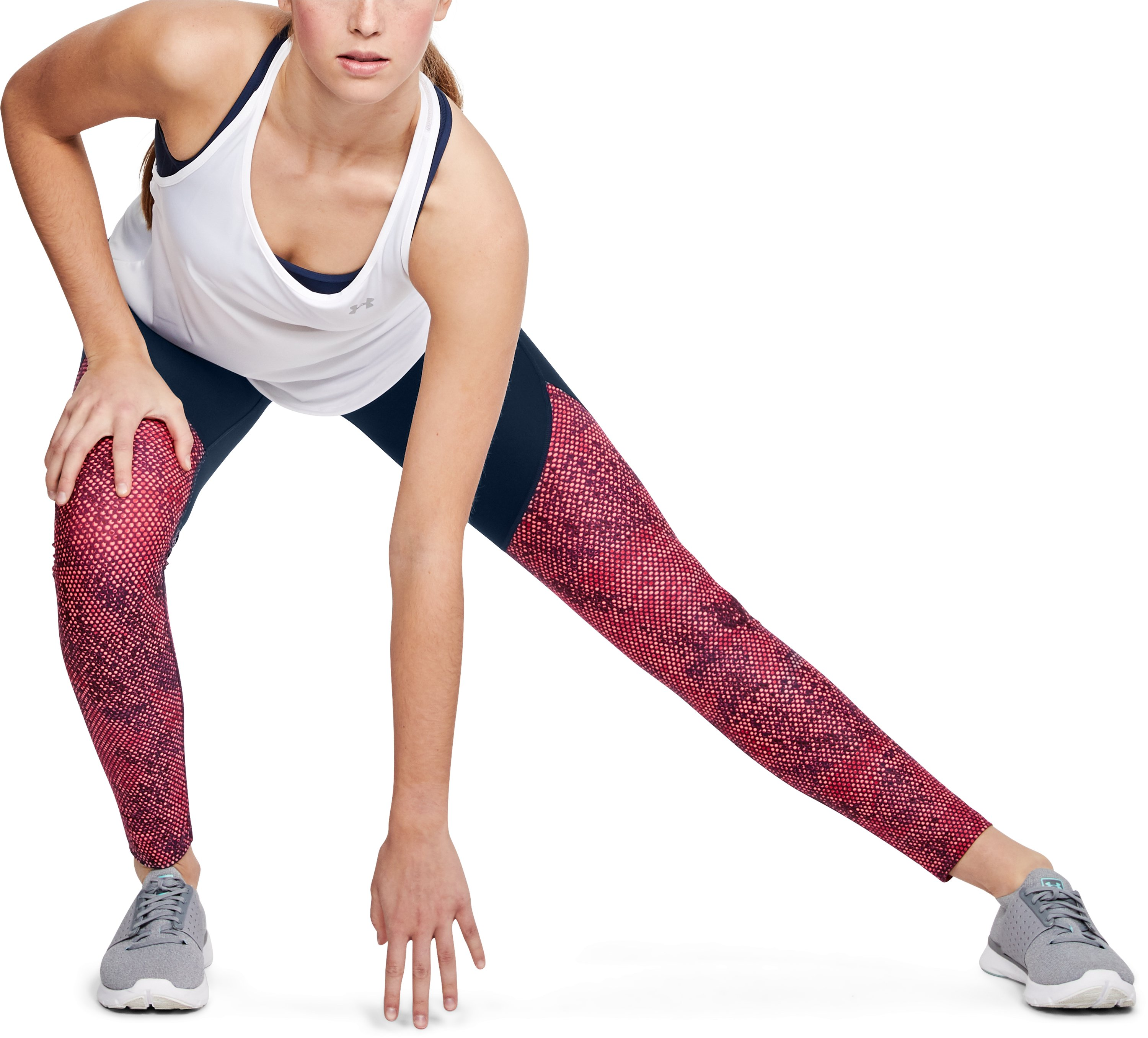 Women's UA Vanish Printed Leggings, BRILLIANCE,