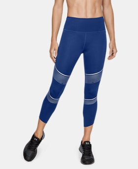 Women's UA Breathelux Metallic Crop  1  Color Available $120