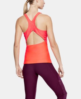 New Arrival Women's HeatGear® Armour Fashion Tank  1 Color $35