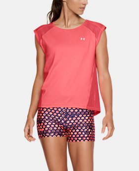 New Arrival Women's UA Armour Sport Cap Sleeve T-Shirt  1 Color $40