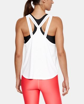 Women's UA Armour Sport Strappy Tank  1  Color Available $35
