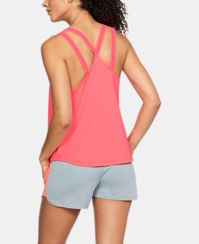 New Arrival Women's UA Armour Sport Strappy Tank  3 Colors $35
