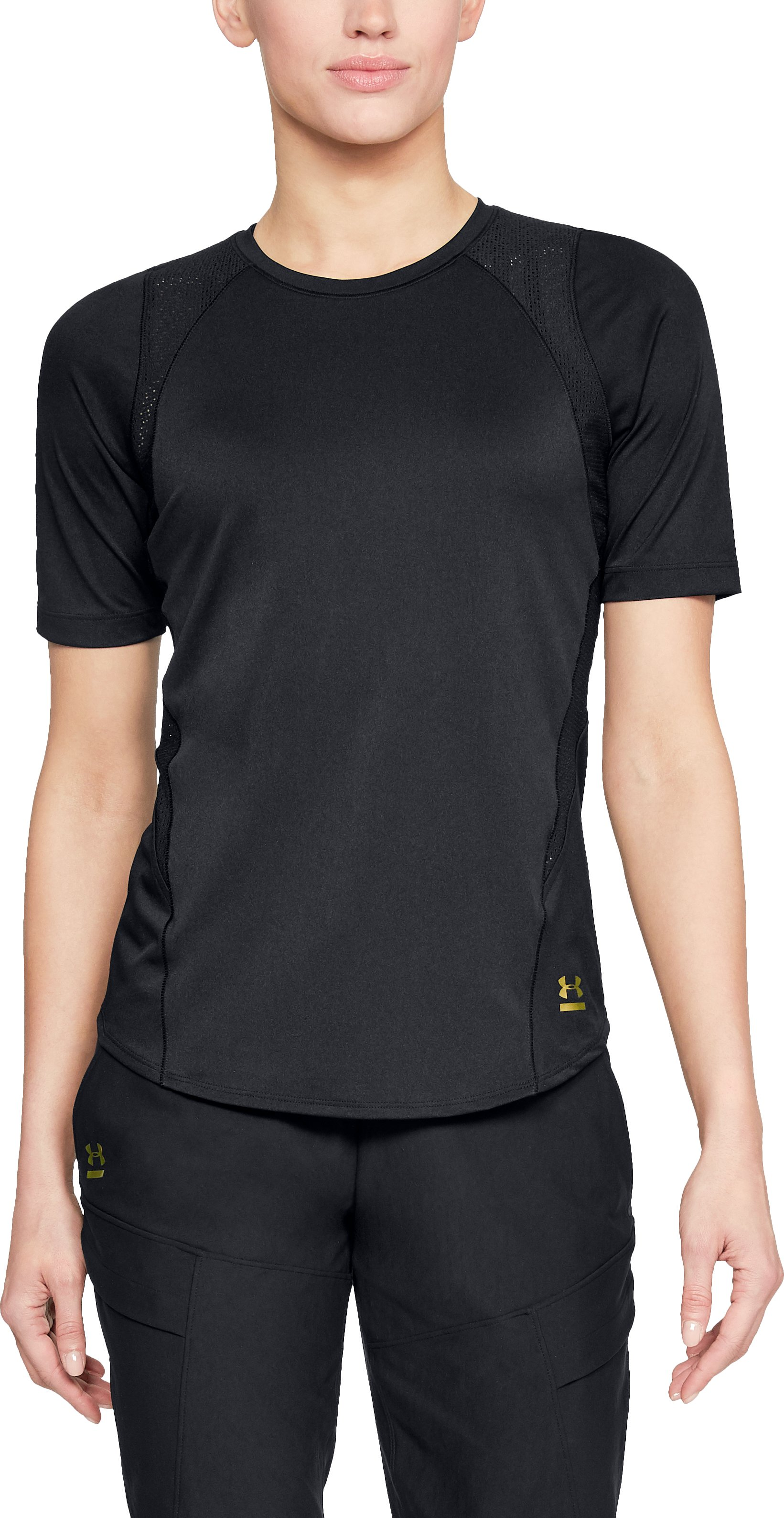Women's UA Perpetual Short Sleeve, Black