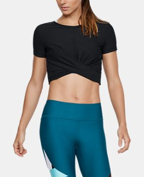 New Arrival Women's UA Vanish Crop Tee  1 Color $50