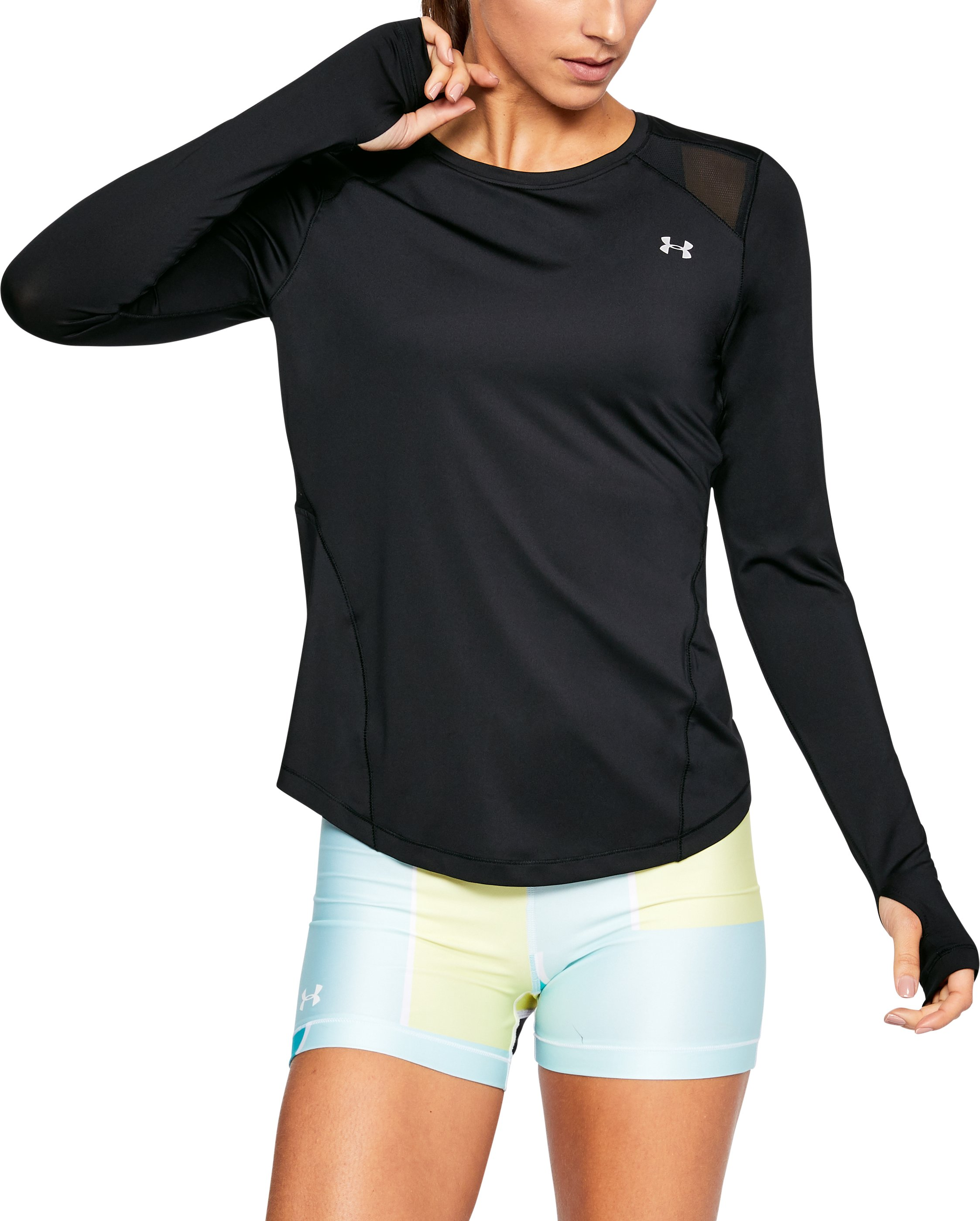 Women's UA Armour Sport Long Sleeve, Black , undefined