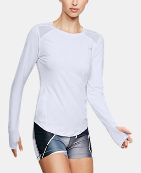 Women's UA Armour Sport Long Sleeve  1  Color Available $50