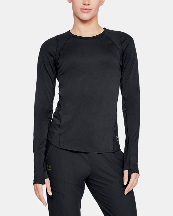Women's UA Perpetual Long Sleeve, Black, pdpMainDesktop image number 1