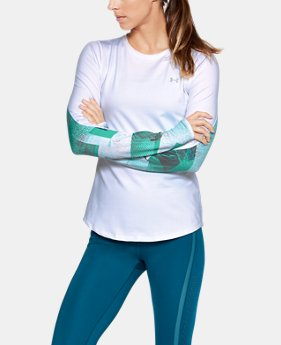 New Arrival Women's ColdGear® Armour Printed Fitted Crew  1 Color $59.99