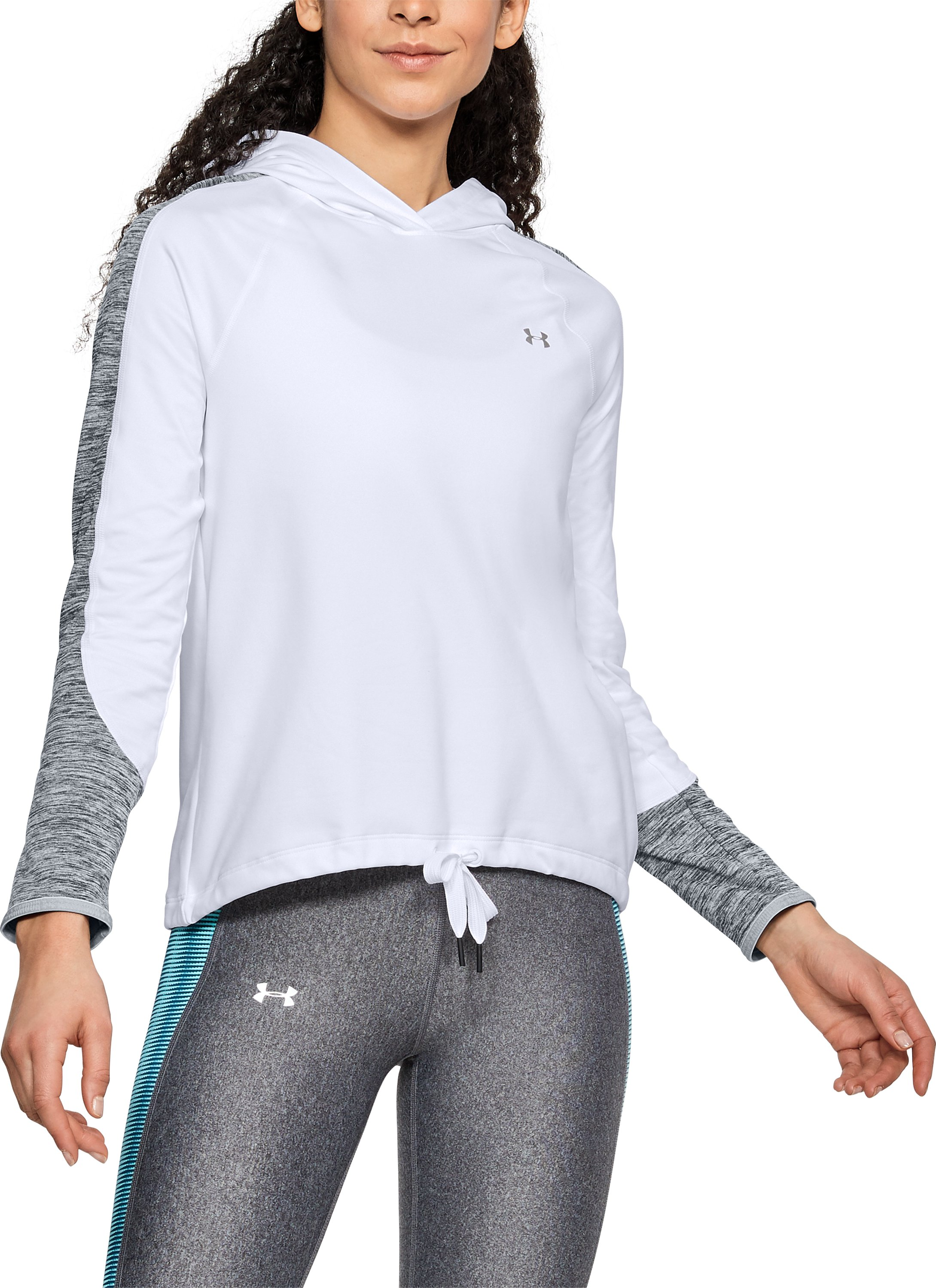 Women's ColdGear® Armour Pullover, White,