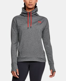 New Arrival  Women's UA Featherweight Fleece Funnel Neck  7 Colors $75