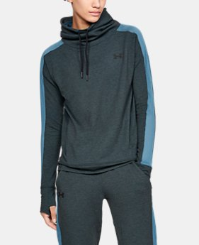Women's UA Featherweight Fleece Funnel Neck  2  Colors Available $75