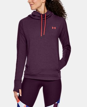 Women's UA Featherweight Fleece Funnel Neck  3  Colors Available $45.99 to $56.99