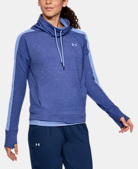 Women's UA Featherweight Fleece Funnel Neck  6  Colors Available $60