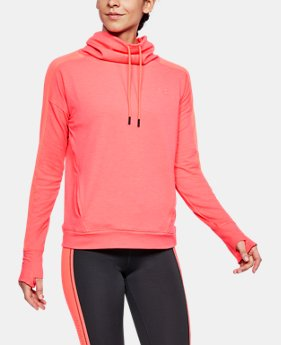 Women's UA Featherweight Fleece Funnel Neck  1  Color Available $36 to $45.99