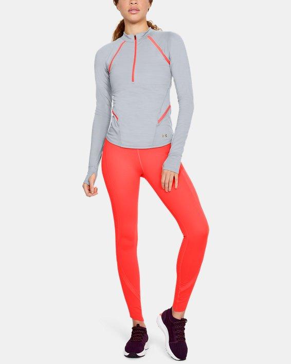 Women's UA Breathelux ½ Zip, Gray, pdpMainDesktop image number 1