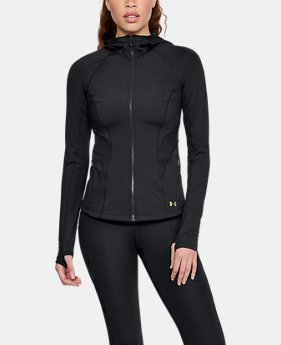 New Arrival Women's UA Breathelux Full Zip Hoodie  2 Colors $120