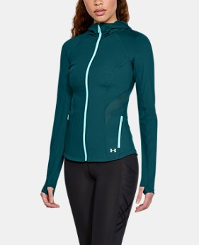 Women's UA Breathelux Full Zip Hoodie  3 Colors $120