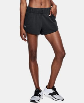 Women's UA Microthread Terry Shorts  1  Color Available $33.75