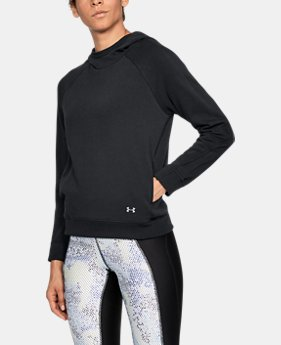 New Arrival Women's UA Threadborne Terry Hoodie  1 Color $60
