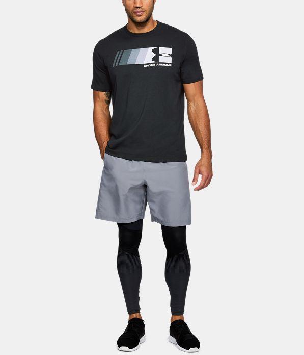 Men 39 s ua fast left chest logo t shirt under armour ca for T shirt left chest logo size