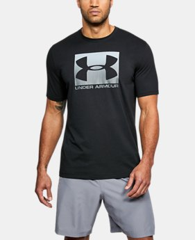 Men's UA Boxed Sportstyle T-Shirt  1  Color Available $25