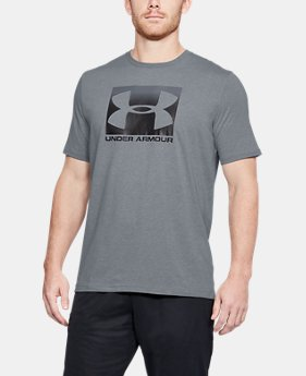 Men's UA Boxed Sportstyle T-Shirt  2  Colors Available $30