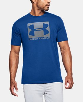 Men's UA Boxed Sportstyle T-Shirt  1  Color Available $30