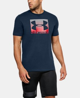 New Arrival Men's UA Boxed Sportstyle T-Shirt  1 Color $25