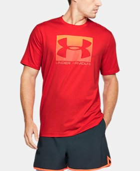 Men's UA Boxed Sportstyle T-Shirt  5  Colors Available $30