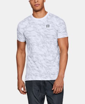 Men's UA Sportstyle Printed Short Sleeve  1  Color Available $35