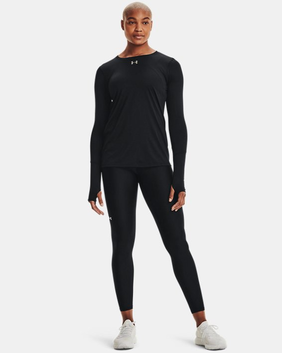 Women's UA Locker 2.0 Long Sleeve, Black, pdpMainDesktop image number 1