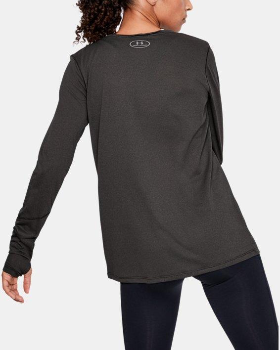 Women's UA Locker 2.0 Long Sleeve, Black, pdpMainDesktop image number 2