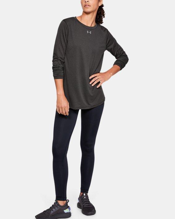 Women's UA Locker 2.0 Long Sleeve, Black, pdpMainDesktop image number 1