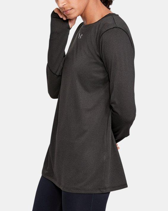 Women's UA Locker 2.0 Long Sleeve, Black, pdpMainDesktop image number 3