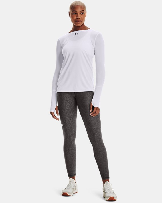 Women's UA Locker 2.0 Long Sleeve, White, pdpMainDesktop image number 1