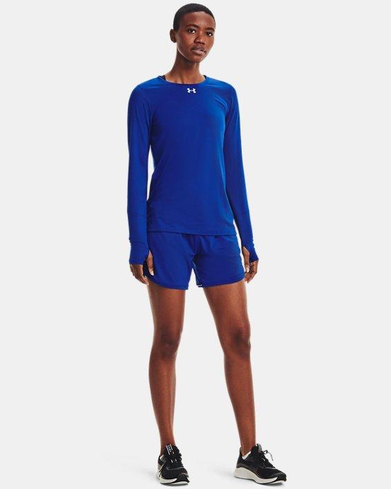 Women's UA Locker 2.0 Long Sleeve, Blue, pdpMainDesktop image number 1