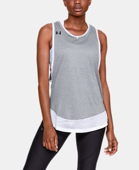Women's UA Locker Muscle Tank  1  Color Available $30