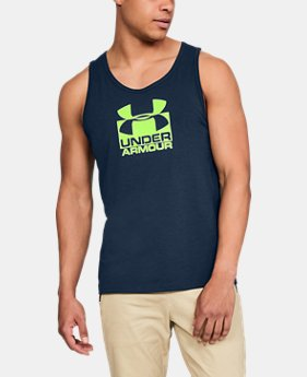 Men's UA Split Sportstyle Tank  1  Color $25
