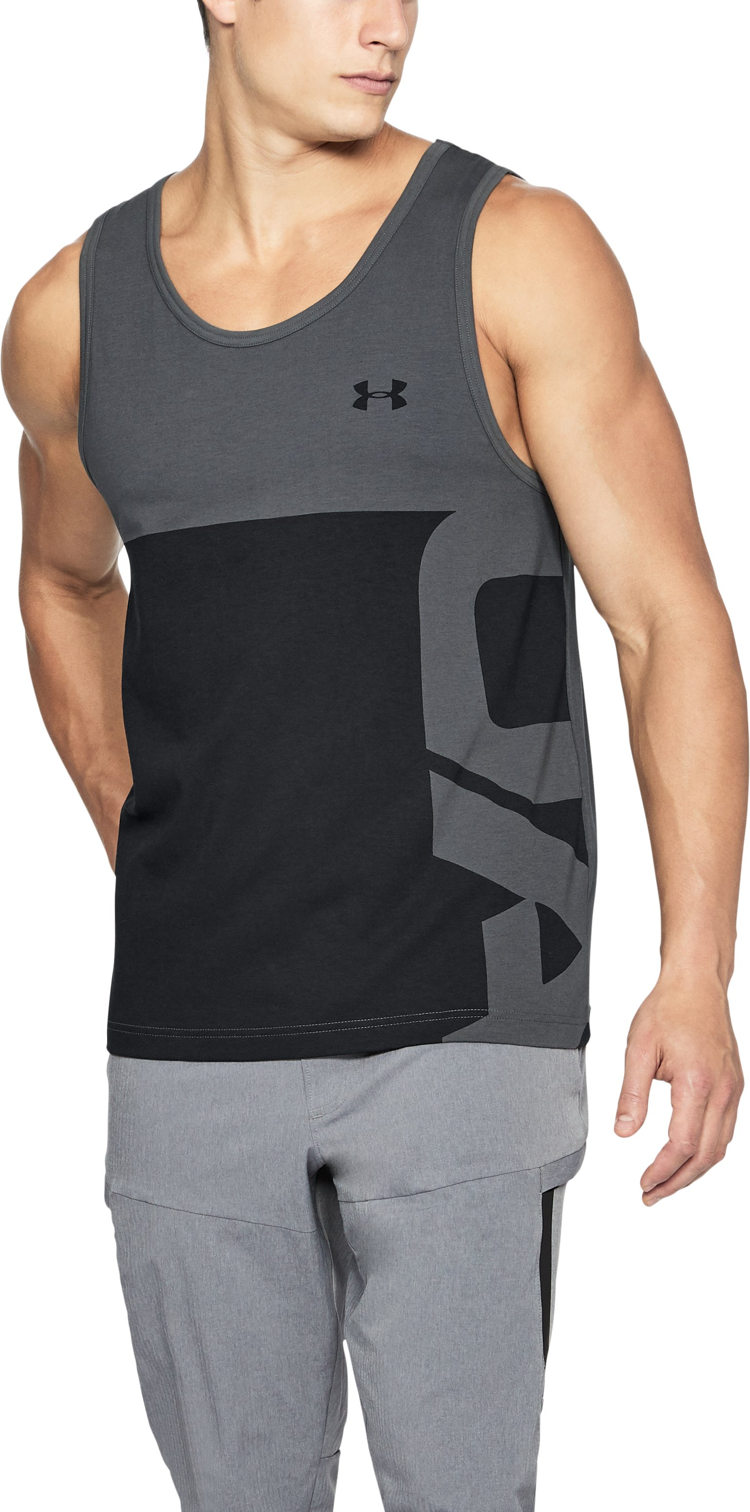 Men's UA Summer Tank, RHINO GRAY,