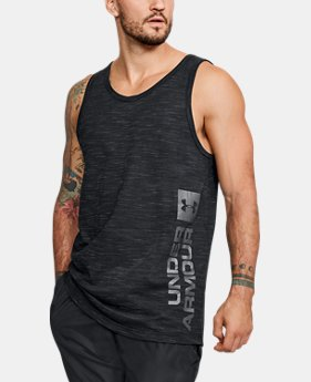 Men's UA Sportstyle Graphic Tank  1  Color Available $22.5