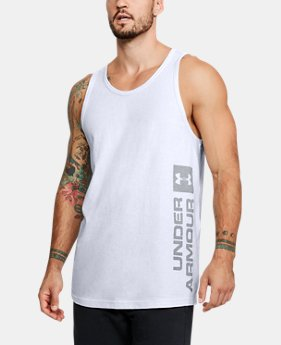 Men's UA Sportstyle Graphic Tank FREE U.S. SHIPPING 1  Color Available $30