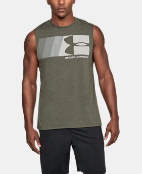 New Arrival Men's UA Graphic Muscle Tank  1 Color $25