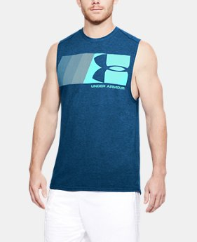Men's UA Graphic Muscle Tank  4 Colors $25