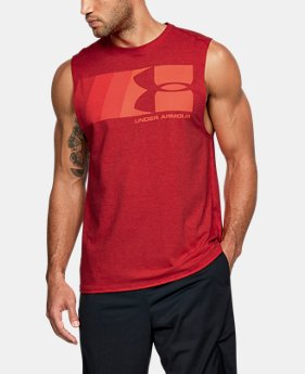 Men's UA Graphic Muscle Tank  2 Colors $25