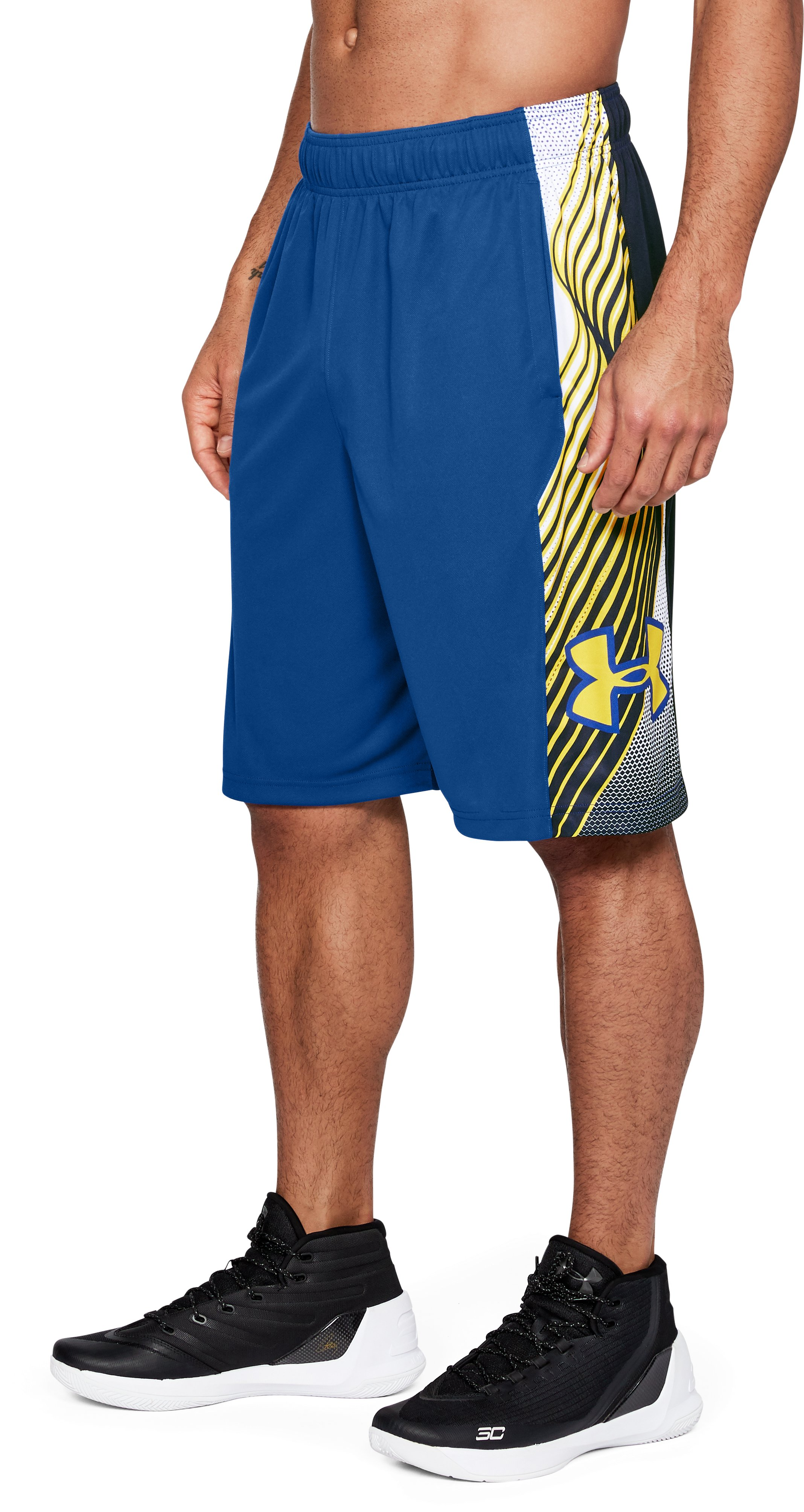 "Men's UA Vector 11"" Shorts, Royal"